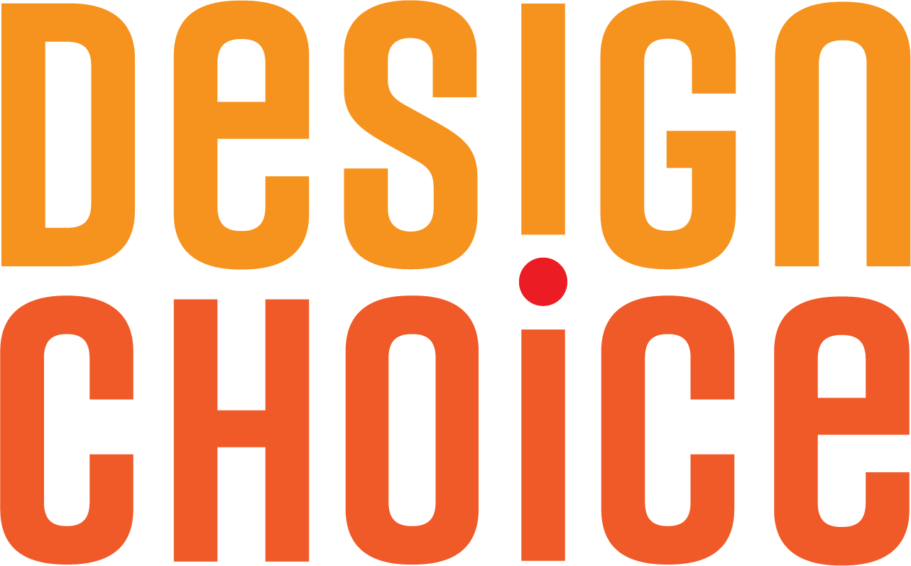 Design Choice, a graphic design studio in Washington, DC, logo.